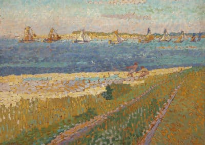 The schelde near Veere - Jan Toorop (1907)