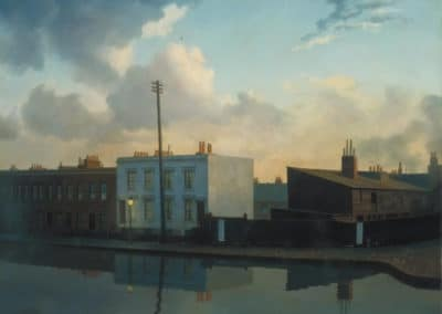 The surrey Canal, Camberwell - Algernon Newton (1935)