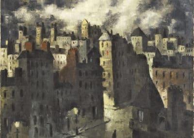 Ville - Frans Masereel (1918)