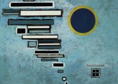 Wassily Kandinsky - Inégal (1932)