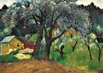 Appletrees, Woodstock - Leon Kroll (1922)