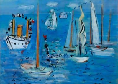 Bateaux - Raoul Dufy