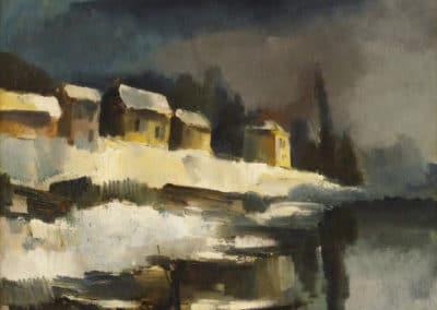 Bords de la rivière - Maurice de Vlaminck