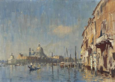 Entrance to the Grand Canal, Venezia - Edward Seago (1940)