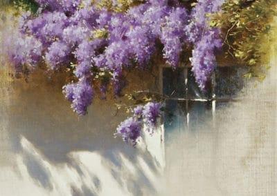 Glycine en fleurs - Iosif Krachkovsky (1898)