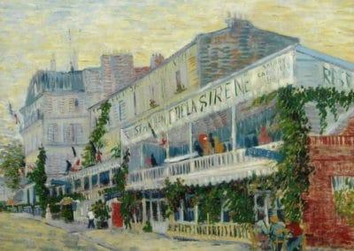 La sirène, restaurant à Asnières - Vincent van Gogh (1887)