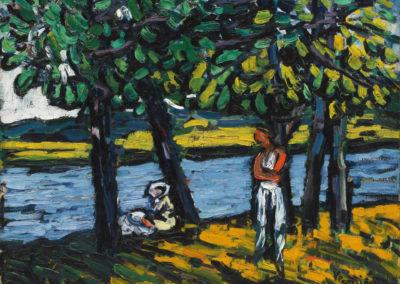 Les canotiers à Chatou - Maurice de Vlaminck (1904)