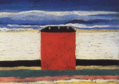 Maison rouge - Kazimir Malevich (1932)