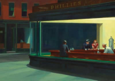 Nighthawks - Edward Hopper (1942)