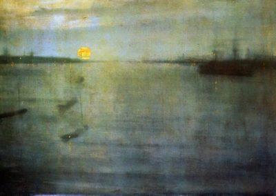 Nocturn sun - James Whistler (1848)