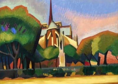 Notre Dame de Paris - Auguste Herbin (1908)