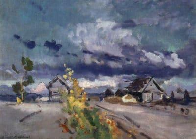 Okhotino, septembre - Konstantin Korovin (1915)