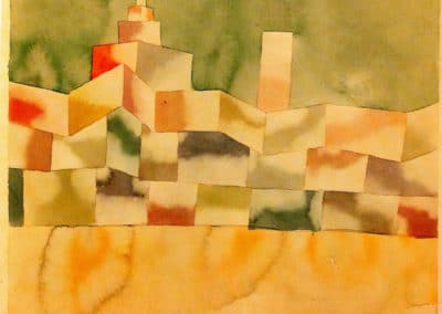 Oriental architecture - Paul Klee (1929)