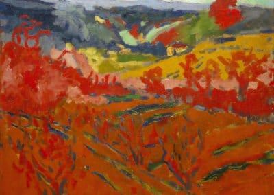 Paysage d'automne - Maurice de Vlaminck (1905)