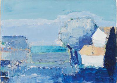 Paysage de Provence - Nicolas de Staël (1953)