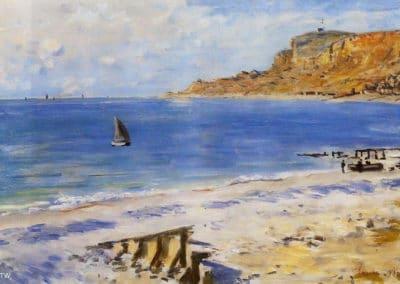 Plage - Claude Monet (1873)