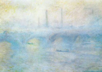 Pont de Waterloo, effet de brouillard - Claude Monet (1901)