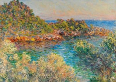 Près de Monte-Carlo - Claude Monet (1883)