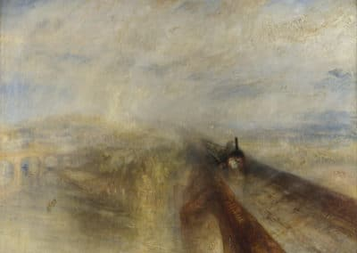 Rain, Steam and Speed - The Great Western Railway - J. M. W. Turner (1844)