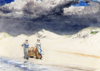 Sand and sky - Winslow Homer (1887)