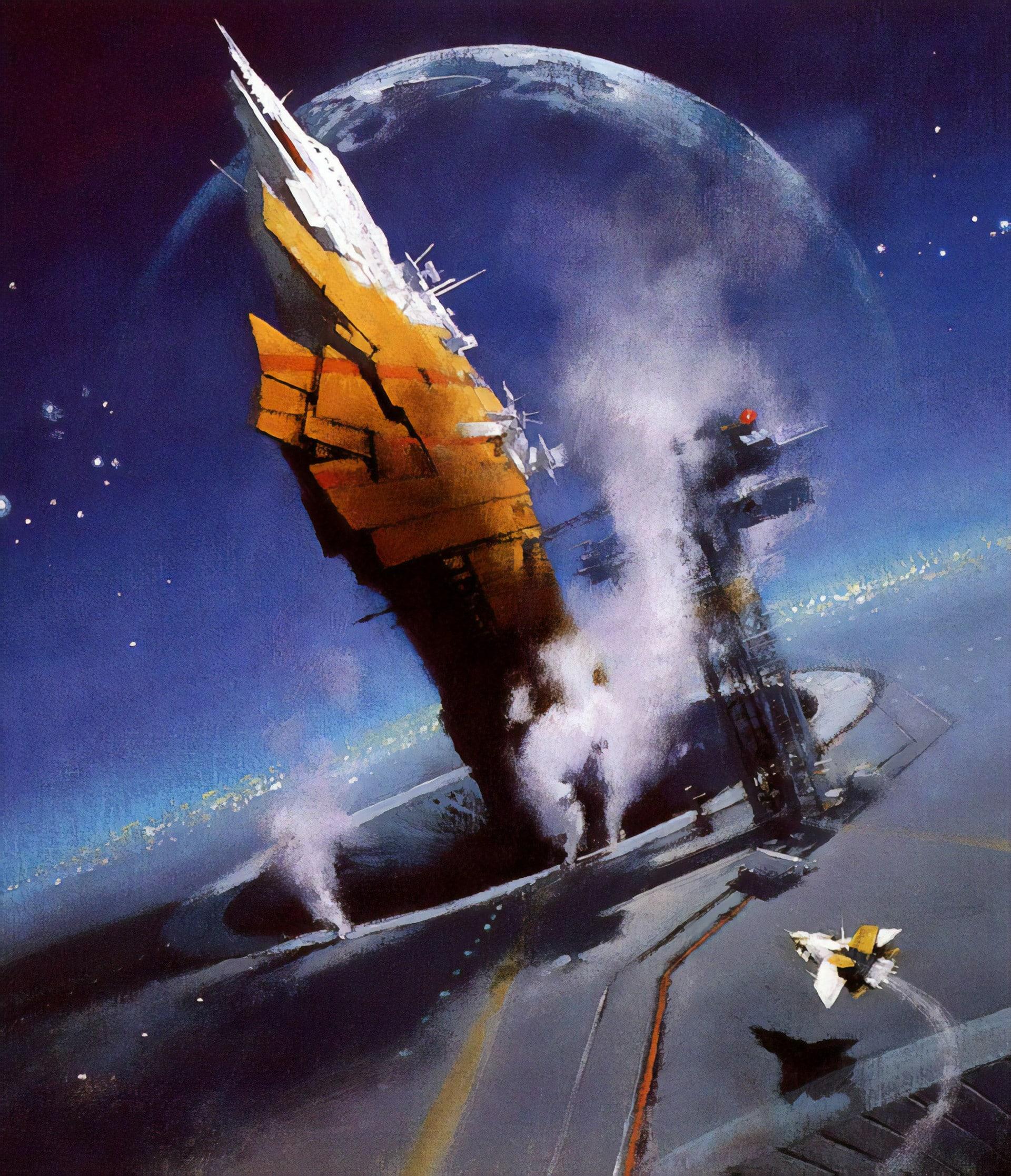 Rentrée gamer : Netrunner & Space Empires 4x Science-fiction-John-Harris-1970-6