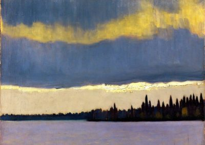 The gleam, northern Quebec - Franz Johnston (1935)