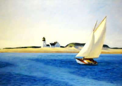 The long leg - Edward Hopper (1930)