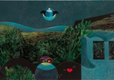 The phases of the night - Max Ernst (1946)