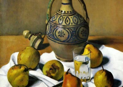 Vase marocain et poires- Felix Vallotton (1924)