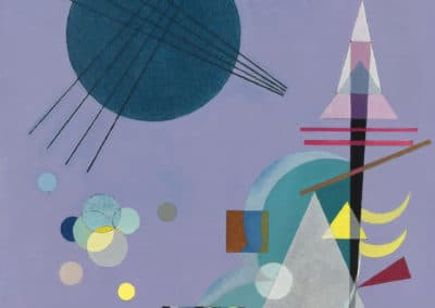 Violet vert - Wassily Kandinsky (1926)