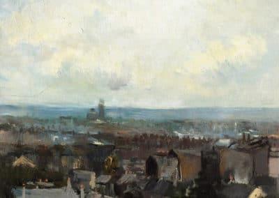 Vue de Paris près de Montmartre - Vincent van Gogh (1886)