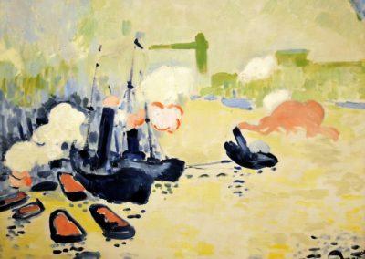 Vue sur la Tamise - André Derain (1906)