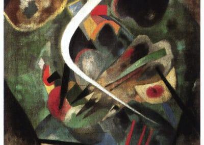 White line - Wassily Kandinsky (1920)