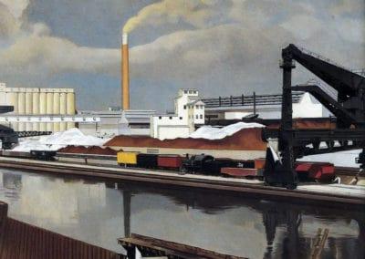 American landscape - Charles Sheeler (1931)