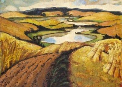 Erntefelder - Max Klaus (1933)