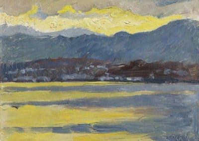 Föhnstimmung - Cuno Amiet (1943)
