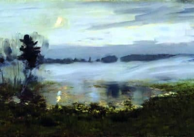 Fog over water - Isaac Levitan (1895)