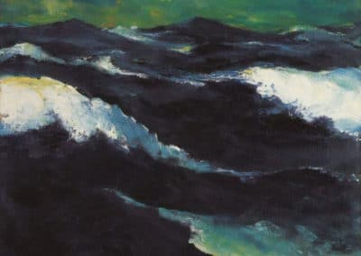 La mer III - Emil Nolde (1903)