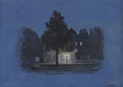L'autre parole - René Magritte (1955)