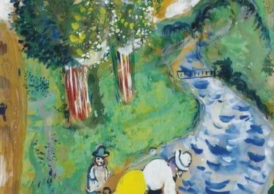 Le ruisseau - Marc Chagall (1926)