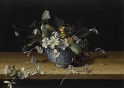 Nature morte aux fleurs - Francois Habert (1648)