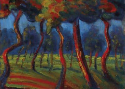 Paysage - Umberto Boccioni (1910)