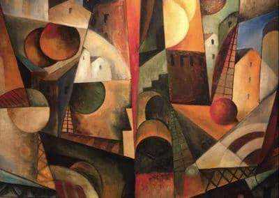 Paysage cubiste - Albert Gleizes (1914)
