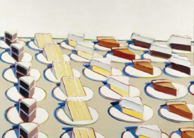 Pie counter - Wayne Thiebaud (1963)