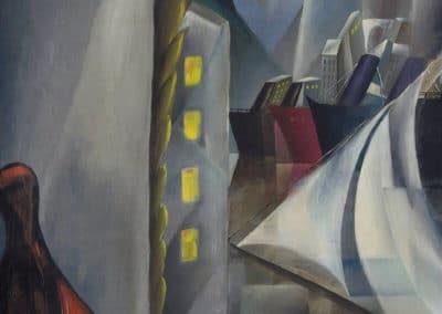 Port sous la lune - Tamara de Lempicka (1924)