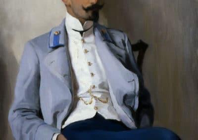 Portrait of K.A. Gorchakov - Nikolay Bogdanov-Belsky (1904)