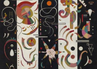 Rayé - Vasily Kandinsky (1934)