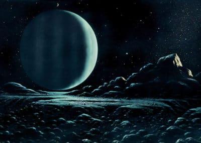 Science-fiction - David A. Hardy 1970 (15)
