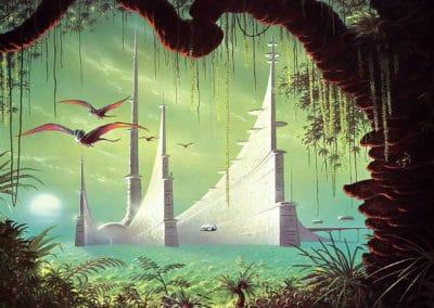 Science-fiction - David A. Hardy 1970 (20)