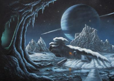Science-fiction - David A. Hardy 1970 (3)